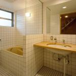 洗面と浴室は一体で省スペース